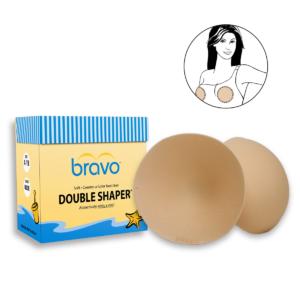 Bravo Style 9800 Double Shaper Nude Bra Pad Inserts