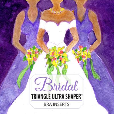 Bravo bra pads triangle ultra shaper style 9100