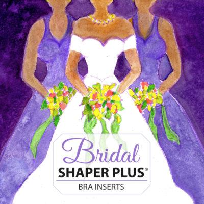 Bravo bridal bra pads shaper plus label