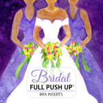Bridal bra pads full push up label